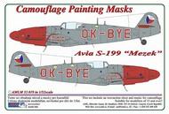 AML Czech Republic  1/32 Avia S-199 Mule OK-BYE-Czech Police version c AMLM3319