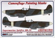 AML Czech Republic  1/48 Supermarine Spitfire Mk.IXc camouflage pattern paint mask AMLM49013