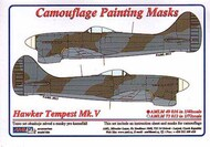 AML Czech Republic  1/48 Hawker Tempest Mk.V, WWII Period camouflage pattern paint mask AMLM49016