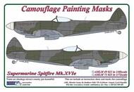 AML Czech Republic  1/48 Supermarine Spitfire Mk.XVIe camouflage pattern paint mask AMLM49021