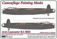 AML Czech Republic  1/48 Avro Lancaster B.I/III camouflage paint mask AMLM49023