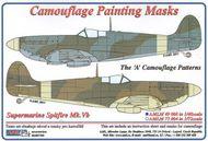 AML Czech Republic  1/48 Spitfire Mk.V camo masks A scheme AMLM4908