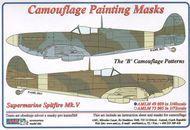 AML Czech Republic  1/48 Spitfire Mk.V camo masks B scheme AMLM4909