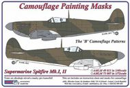 AML Czech Republic  1/48 Spitfire Mk.I, Mk.II B camo Patterns AMLM4911