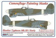 AML Czech Republic  1/48 Typhoon Mk.Ib / Early version camo masks AMLM4914