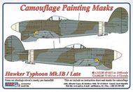 AML Czech Republic  1/48 Typhoon Mk.Ib / Late version camo masks AMLM4915
