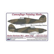 AML Czech Republic  1/48 Hurricane Mk.I / fabric wings camo masks A sc AMLM4918