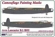 AML Czech Republic  1/48 Avro Lancaster B.I/III camo paint mask (TAM) AMLM4923