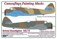 AML Czech Republic  1/48 Beaufighter Mk.VI - 2 Variant Camo mask (TAM) AMLM4924