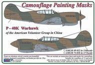 AML Czech Republic  1/48 Curtiss P-40K Warhawk Camo Patterns AVG  AMLM4932