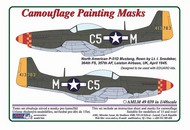 AML Czech Republic  1/48 North-American P-51D-5 Mustang camouflage pattern paint mask AMLM4939