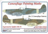 AML Czech Republic  1/72 Spitfire Mk.V camo masks A scheme AMLM7304