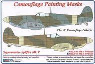 AML Czech Republic  1/72 Spitfire Mk.V camo masks  B scheme AMLM7305