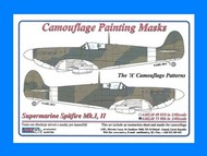 AML Czech Republic  1/72 Spitfire Mk.I, Mk.II A camo Patterns AMLM7306