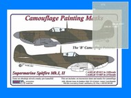 AML Czech Republic  1/72 Spitfire Mk.I, Mk.II B camo Patterns AMLM7307