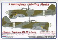 AML Czech Republic  1/72 Typhoon Mk.Ib / Early version camo masks AMLM7310