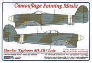 AML Czech Republic  1/72 Typhoon Mk.Ib / Late version camo masks AMLM7311