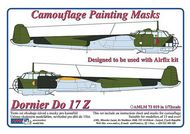 AML Czech Republic  1/72 Do 17Z camo paint mask AMLM7319