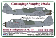 AML Czech Republic  1/72 Beaufighter Mk.VI late - Night Fighter (HAS) AMLM7325