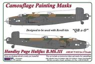 AML Czech Republic  1/72 Handley-Page Halifax B.Mk.III 'QB o O' camouf AMLM7333