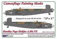 AML Czech Republic  1/72 Handley-Page Halifax Mk.VII '2P o X' camoufla AMLM7334