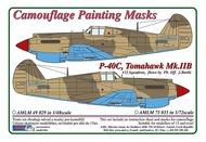 AML Czech Republic  1/72 Curtiss P-40C Tomahawk Mk.IIB AMLM7335