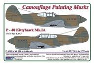 AML Czech Republic  1/72 Curtiss P-40 Kittyhawk Mk.Ia RAAF (ACY/HAS) AMLM7336