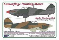 AML Czech Republic  1/72 Hawker Hurricane Mk.II 'A' Camo Patterns AMLM7339