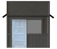 AM MODELS  HO False Front Building AMM128