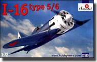 A Model Poland  1/72 I-16 Type 5/6 Soviet Fighter AMZ72123