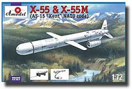 A Model Poland  1/72 X-55 & X-55M Compact Strategic Cruise Missiles AMZ72127