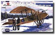A Model Poland  1/72 SPAD SA4 WWI BiPlane Fighter w/Skis AMZ7273