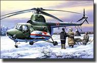 A-Model Poland  1/72 Mil Mi3 Military Ambulance Helicopter AMZ7297