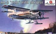 A Model Poland  1/144 An-2 Colt with Skis AMZ1436