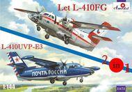 A Model Poland  1/144 Let L-410FG & L-410UVP-E3 (Czechoslovakia, Ru AMU1471