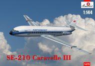 A Model Poland  1/144 Sud-Aviation Caravelle III AMU1478