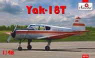 A Model Poland  1/48 Yakovlev Yak-18T Red Aeroflot AMZ4810