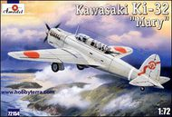 A Model Poland  1/72 Kawasaki Ki-32 'Mary' overall light grey AMU72154