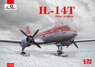 A Model Poland  1/72 Ilyushin Il-14T 'Crate' Polar: On skis AMU72258