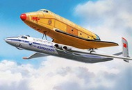 A Model Poland  1/72 Myasishchev 3M-T 'Atlant' out-size cargo version AND Buran (AMU015-02) AMZ09972