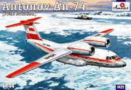 A Model Poland  1/144 Antonov An-74 Polar Soviet Commercial/Cargo Aircraft AMZ1421