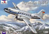 A Model Poland  1/144 IL14P NATO Code Crate Lufthansa Personnel/Cargo Aircraft (D)<!-- _Disc_ --> AMZ1447