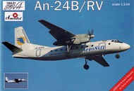 A Model Poland  1/144 Antonov An24B Passenger Airliner (D)<!-- _Disc_ --> AMZ1464
