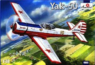 A Model Poland  1/48 Yak50 Soviet Fighter (D)<!-- _Disc_ --> AMZ4805