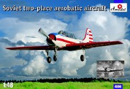 A Model Poland  1/48 Yak52 2-Seater Soviet Aerobatic Aircraft AMZ4806