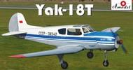 A Model Poland  1/48 Yak18AT Russian Aeroflot Aircraft AMZ4807