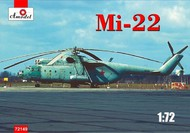 A Model Poland  1/72 Mil Mi22 Military Soviet Cargo Helicopter AMZ72149