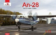 A Model Poland  1/72 Antonov An28 NATO Code Cash Aircraft (D)<!-- _Disc_ --> AMZ72227