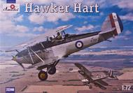 A Model Poland  1/72 Hawker Hart British BiPlane Fighter (D)<!-- _Disc_ --> AMZ72240