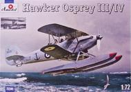 A Model Poland  1/72 Hawker Osprey III/IV British BiPlane Amphibious Fighter (D)<!-- _Disc_ --> AMZ72241